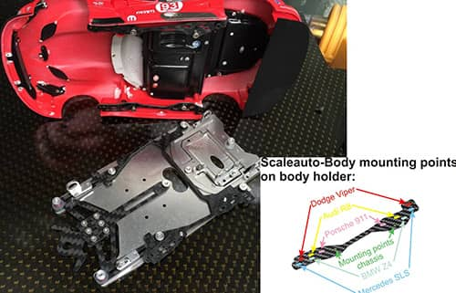 SF Chassis for ScaleAuto-Bodies