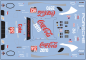 Decal Porsche 911 991 RSR #912 Cola Coke-Zero SCALE 1:32