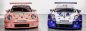 Decal Porsche 911 991 RSR #92 LM 2018 Pink Pig Scale 1/32