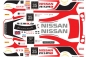Decal Nissan GTR Nismo #35 Scale 1/32
