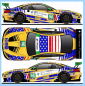 Decal BMW M6 - GT3 - Watkin Glenn 2018 - #96  Turner