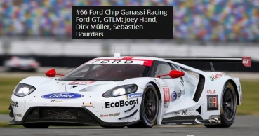 Decal Ford GT 2019 #66   Daytona Test SCALE 1:32