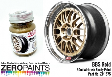 BBS Wheel Gold Paint 30ml ZP-1575