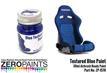 Blue Textured Paint - 30ml (Engines, Interiors etc)