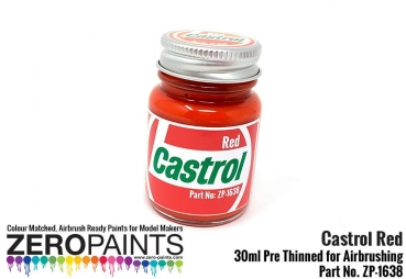 Castrol Red Paint 30ml