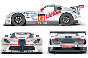 Decal Dodge Viper Riley #53 Le Mans 2015