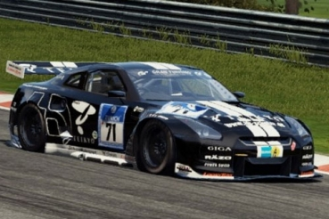 Decal Nissan GTR Schulze Motorsport #71