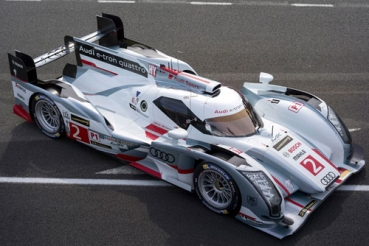 Decal Audi R18 Etron 2013 #2