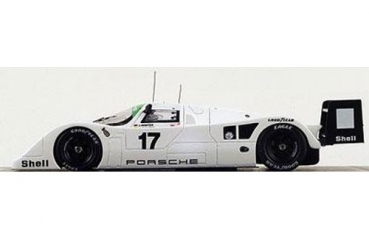 Decal Porsche 962 Testcar 1993 Le Mans Joest Racing #17