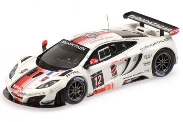 Decal McLaren MP4-12C ART Pro-AM #12