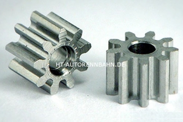 Pinion 9Z f.Ø2mm M50 Steel