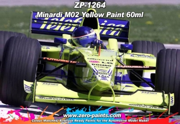 Minardi M02 Yellow Paint 60ml