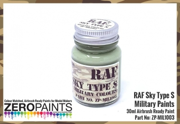 RAF Ocean Grey BS633 Paint 30ml - Kopie