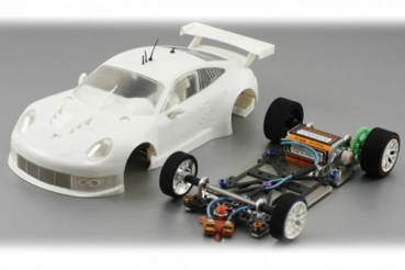 Porsche 991 GT3 RSR White Kit with GT3 Chassis SC-8003