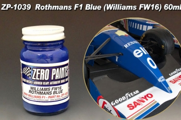 Williams FW16 Rothmans Blue Paint 60ml
