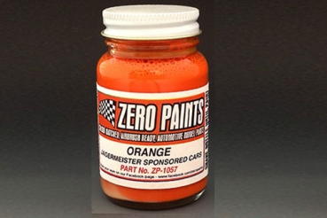 Orange - Similar Colour to the Jagermeister Sponsored Race Cars 60ml