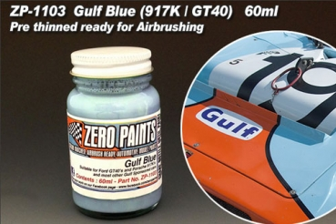 AGulf Blue Paint for 917's and GT40's etc 60ml