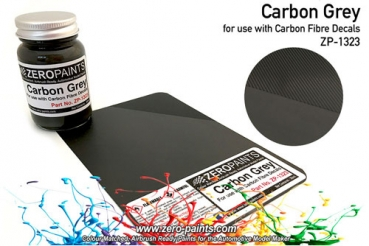 Carbon Grey (Carbon Fibre Grey) Paint 60ml