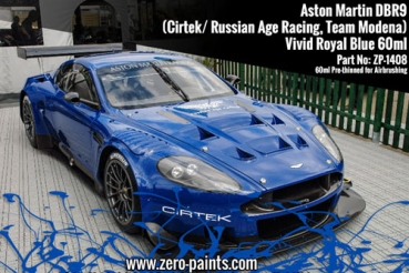 Aston Martin DBR9-Vivid Royal Blue (Cirtek/ Russian Age Racing, Team Modena) 60ml