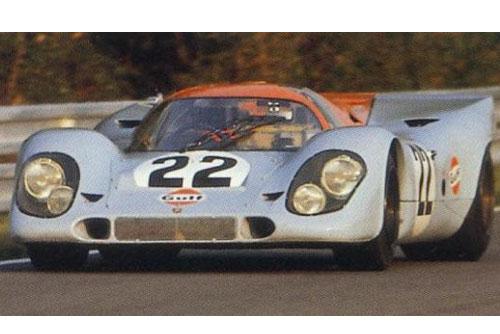 Porsche 917 LH #17 Gulf Aufkleber 24h Le Mans 1970 Sticker