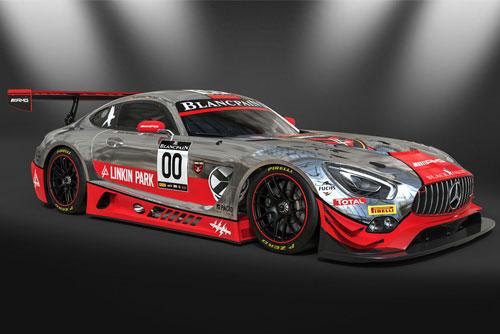 Slotfabrik Onlineshop - Decal Mercedes AMG GT3 Linkin Park #00