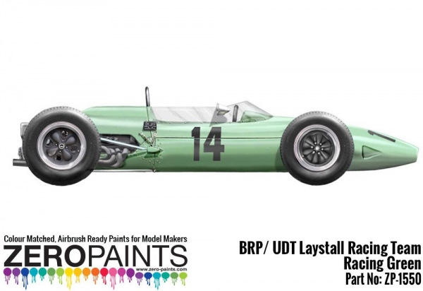 BRP / UDT Laystall Racing Team Racing Green Paint 60ml  ZP-1550