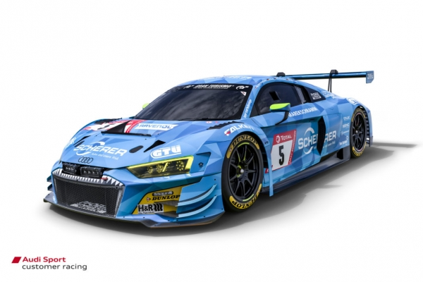 Decal Audi R8 GT3 Ring 2019 Phoenix #5