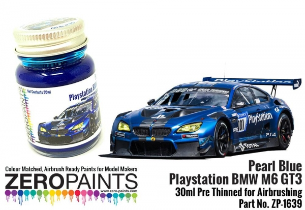 Pearl Blue Playstation Bmw M6 Gt3 Paint 30ml