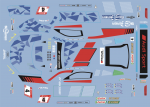 Decal Audi R8 GT3 Ring 2019 Phoenix #4