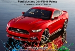 Ford Mustang 2015 Paints 60ml RACE RED