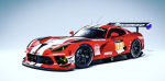 Decal Dodge Viper ZakSpeed #13 24h Dubai 2021