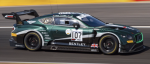 Decal Bentley Continental GT3 SPA 2019 #107