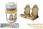 Beige Textured Paint - 30ml (Interiors etc)
