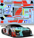 Decal Audi R8 LMS GT3 #8 Audi Sport Team WRT