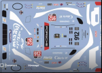 Decal Porsche 911 991 RSR IMSA #912 Petit LM Road Atlanta 2019 Coca-Cola