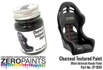 Charcoal Textured Paint - 30ml (Engines, Interiors etc) zp-1583