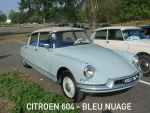 Citroën DS19 Paints  Bleu Nuage 604 60ml