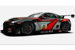 Decal Nissan GTR JRM Racing #24