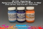 2011 Flying Lizard Porsche Paint Set 3x30ml