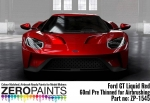Ford GT Liquid Red  Zero Colour Matched Paints 60ml