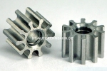 Pinion 10Z f.Ø2mm M50 Steel