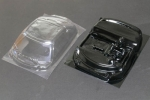 Scaleauto Mercedes SLS Lexan Windows and Driver Interior