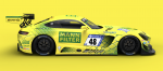 Decal Merc AMG GT3 HTP Motorsport / Mann Filter Mamba#48 Nürburg Ring