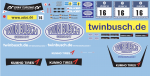 Decal Audi R8 GT3 Twinbusch #16 - 24h Ring 2013