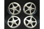 Set of Rims Nismo 5Y 21x13mm & 21x6mm