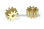 Pinion Gear Racing Brass 1.5 10T f.Ø1.5mm