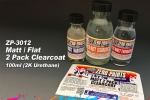 MATT/ FLAT 2 Pack Clearcoat 100ml (2K Urethane) ZP-3012
