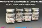 Extra Fine Metallic SILVER Groundcoat for Candy Paints 60ml